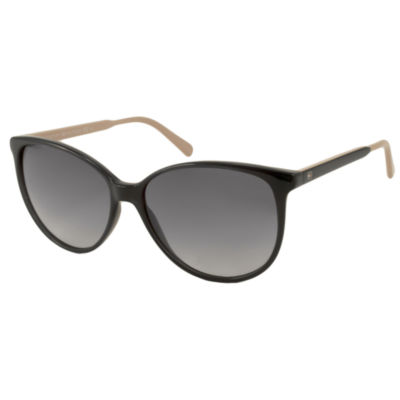 Tommy Hilfiger Sunglasses - Th1261S / Frame: BlackWith Rose Temples Lens: Gray Gradient