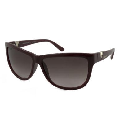 Valentino Sunglasses - V614S / Frame: Bordeaux Lens: Burgundy Gradient
