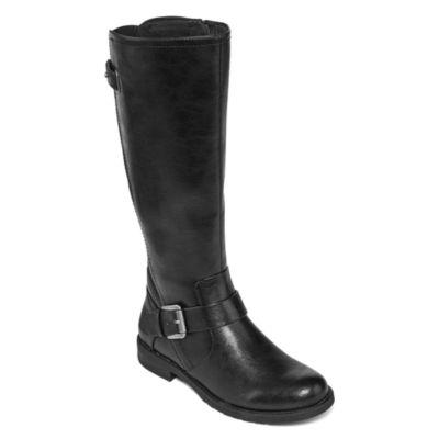 Yuu Catie Womens Riding Boots Wide Calf
