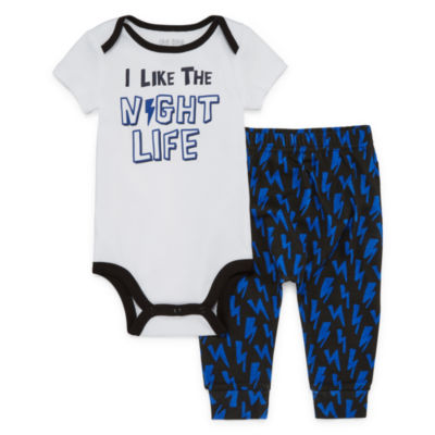 Okie Dokie 2-pc. Bodysuit Set-Baby Boys NB-24M