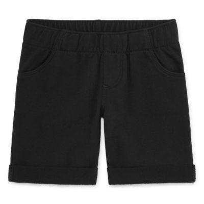 Okie Dokie Knit Bermuda Shorts - Toddler Girls
