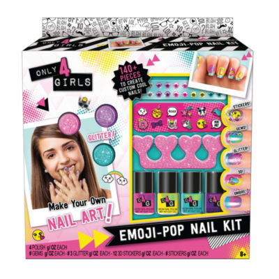 Only 4 Girls - Emoji Pop Nail Kit