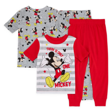 Disney 4-pc. Mickey Mouse Pajama Set Boys