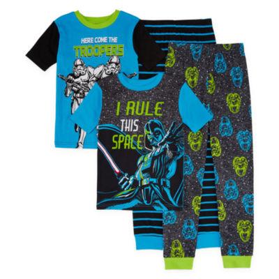 Lucas International 4-pc. Pajama Set Boys