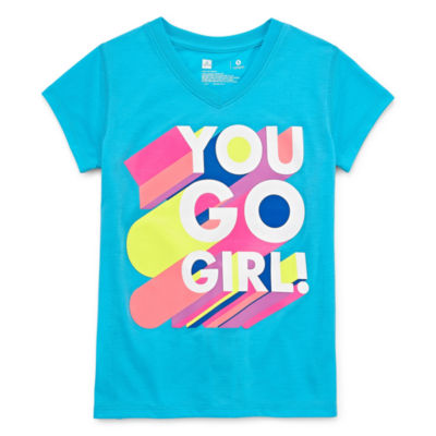 Xersion Graphic T-Shirt Girls 4-16