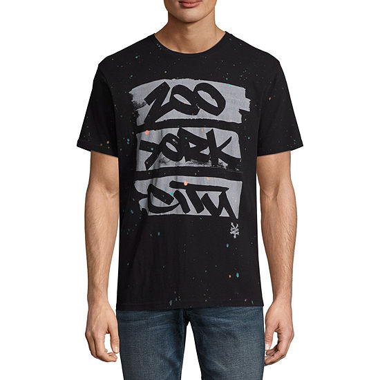 Zoo York Mens Crew Neck Short Sleeve Graphic T Shirt