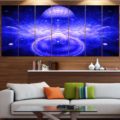 Mystic 3D Surreal Illustration Abstract Canvas ArtPrint - 7 Panels