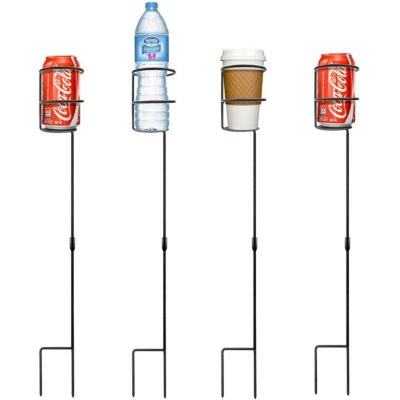 Sorbus Outdoor Beverage Heavy Duty Drink Holder Stakes