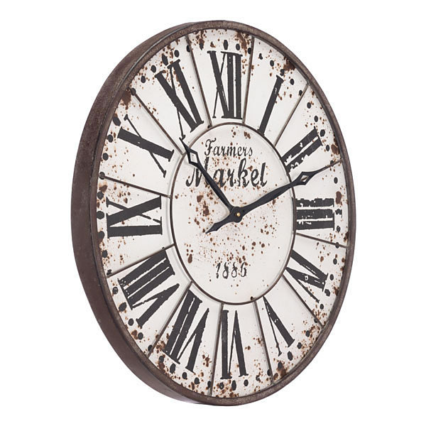 Farmers Market Antique Wall Clock