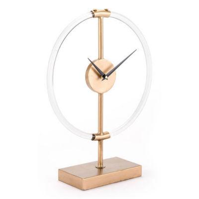Sculptural Tabletop Clock