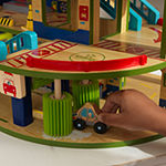 KidKraft Wash n' Go Wooden Car Garage