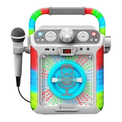 Singing Machine - Groove Cube CDG Karaoke System Plus Bluetooth
