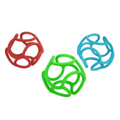 OGO Sport - Bolli, 3 Pack - 1 Green, 1 Red, 1 Blue