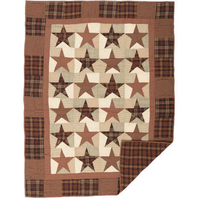 VHC Brands Abilene Star Quilted Throw