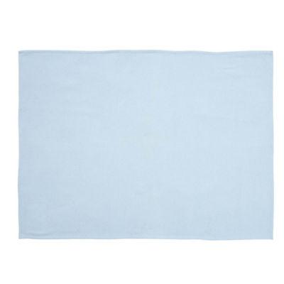 VHC Brands Blue Baby Blanket
