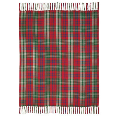 VHC Brands Connor Woven Throw