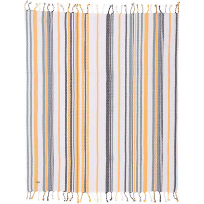 VHC Brands Seapoint Woven Throw
