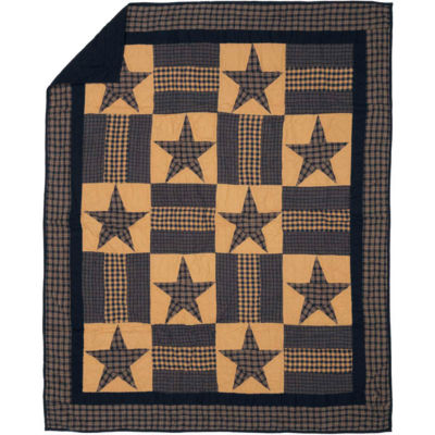 VHC Brands Teton Star Quilted Throw