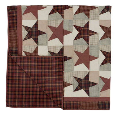 VHC Brands Abilene Star Quilt & Accessories