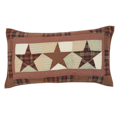 Ashton And Willow Country Star Reversible Pillow Sham