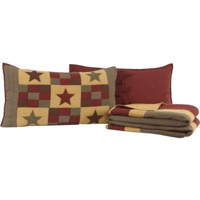 VHC Brands Hazelwood Quilt Set