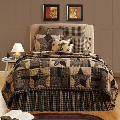 VHC Brands Bingham Star Quilt & Accessories