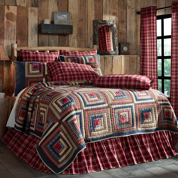 VHC Brands Braxton Quilt & Accessories