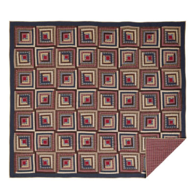 Ashton And Willow Harvey Cabin Reversible Quilt