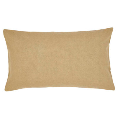 Ashton And Willow Veranda Burlap Natural Reversible Pillow Sham