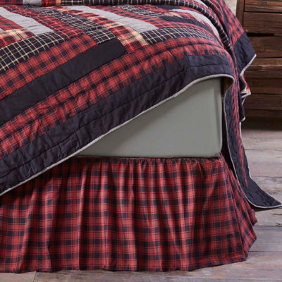 Ashton And Willow Shasta Cabin Bed Skirt