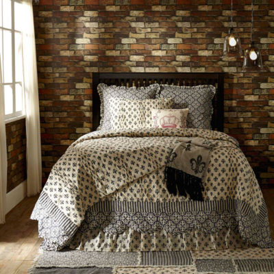 VHC Brands Elysee Quilt & Accessories