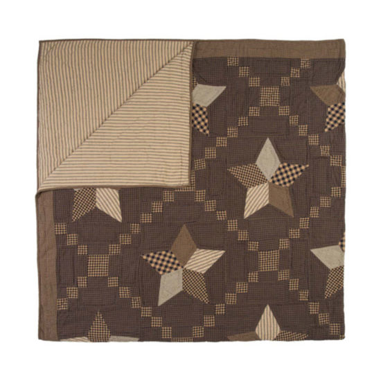 VHC Brands Farmhouse Star Quilt & Accessories