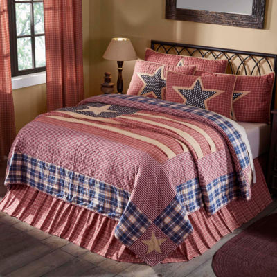 VHC Brands Independence Quilt & Accessories