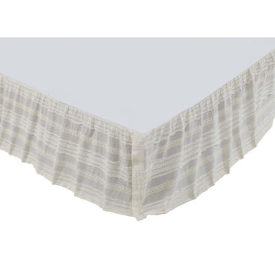 VHC Brands Jasmine Bed Skirt