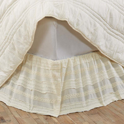 VHC Brands Jasmine Bed Skirt