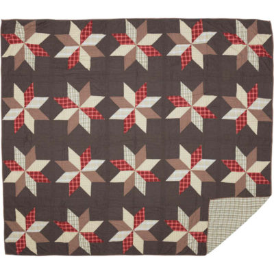 VHC Brands Liberty Stars Quilt & Accessories