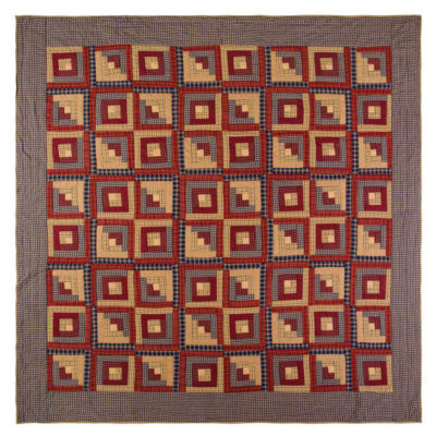 Ashton And Willow Clamont Reversible Quilt