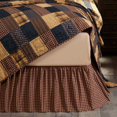 Ashton And Willow Antique Patch Bed Skirt