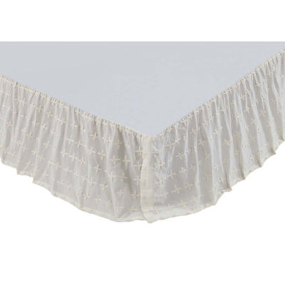 VHC Brands Willow Bed Skirt