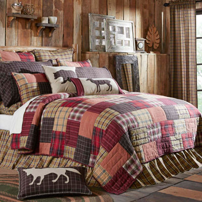 VHC Brands Wyatt Quilt & Accessories