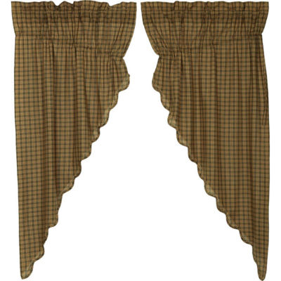 VHC Brands Barrington Scalloped Window Treatments