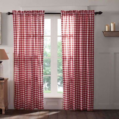 VHC Brands Buffalo Check Window Treatments