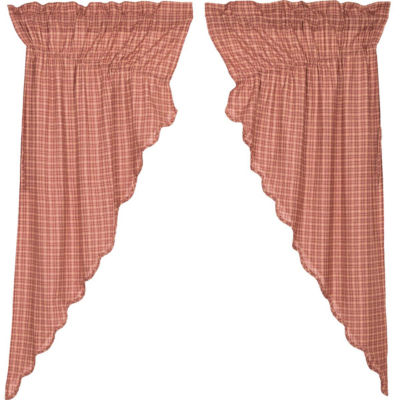 VHC Brands Independence Scalloped Window Treatments