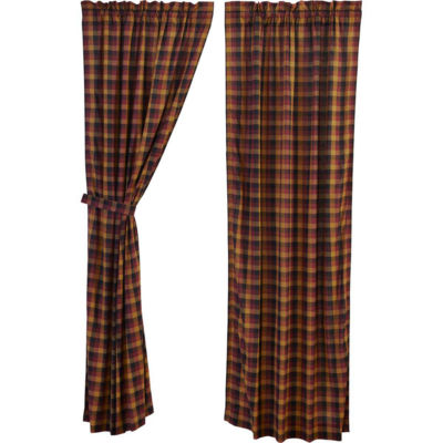 VHC Brands Primitive Check Window Treatments