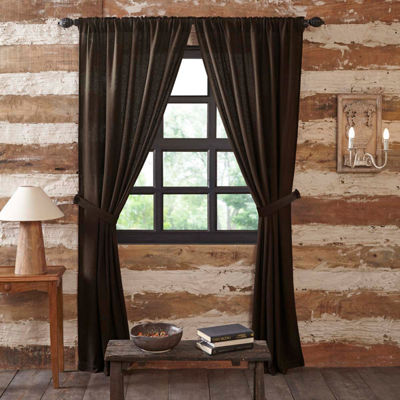 VHC Brands Burlap Window Treatments