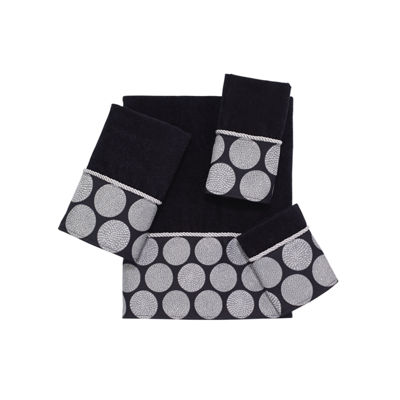 Avanti Dotted Circle Embellished Bath Towel Collection