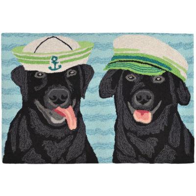 Liora Manne Frontporch Salty Dogs Hand Tufted Rectangular Rugs