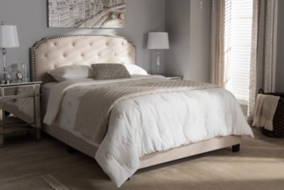 Baxton Studio Lexi Modern and Contemporary Bed