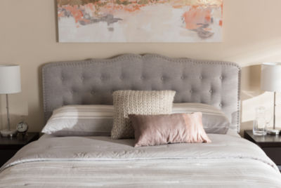 Baxton Studio Lucy Modern and Contemporary Headboard