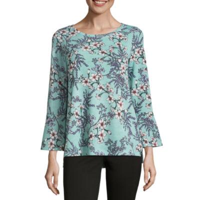 Liz Claiborne Bell Sleeve Sweatshirt